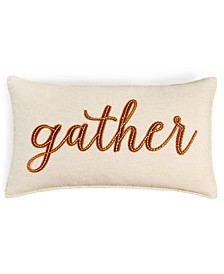 """Gather 14"""" x 24"""" Decorative Pillow, Created for Macy's"""