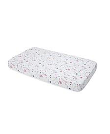 Fairy Garden Cotton Muslin Crib Sheet