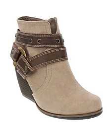 Humms Above Ankle Booties