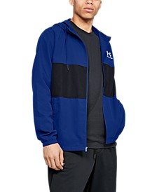 Men's Sportstyle Colorblocked Hooded Windbreaker