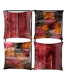 Heather Ann Creations Dina Collection 4-Panel Wall Decor