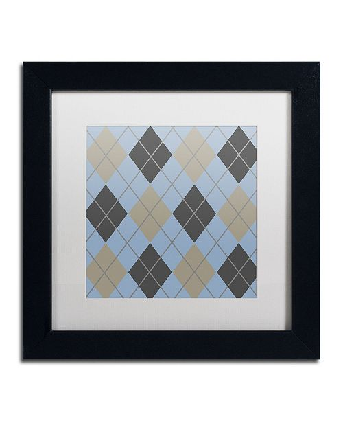 """Trademark Global Color Bakery 'Group 03 A' Matted Framed Art - 11"""" x 11"""""""