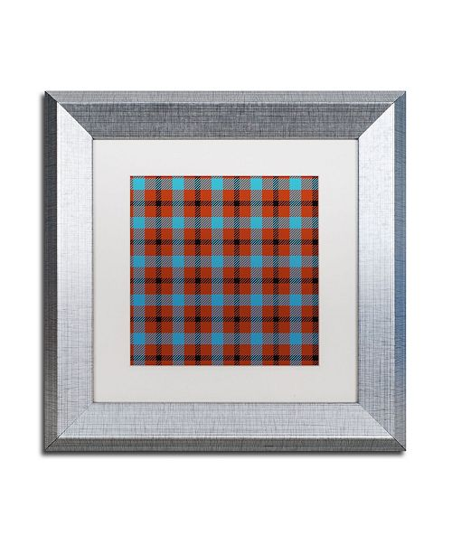 "Trademark Global Color Bakery 'Group 06 A' Matted Framed Art - 11"" x 11"""
