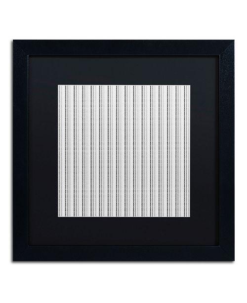 "Trademark Global Color Bakery 'Group 09 B' Matted Framed Art - 16"" x 16"""