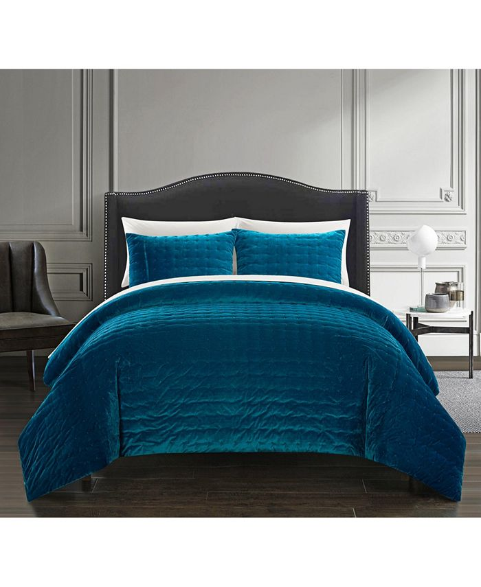 Chic Home - Chyna 3 Piece King Comforter Set