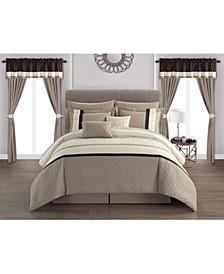 Katrin 20-Pc. Queen Comforter Set
