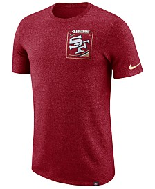 Nike Men's San Francisco 49ers Marled Stadium T-Shirt
