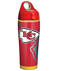 Kansas City Chiefs 24oz Rush Stainless Steel Tumbler