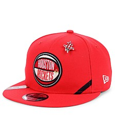 New Era Big Boys Houston Rockets 2019 On-Court Collection 9FIFTY Snapback Cap