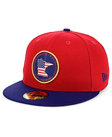 New Era Minnesota Twins Stately 59FIFTY Fitted Cap