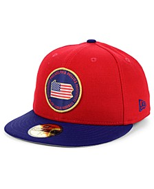 Philadelphia Phillies Stately 59FIFTY Fitted Cap
