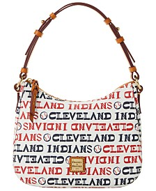 Dooney & Bourke Cleveland Indians Small Kiley Hobo Bag