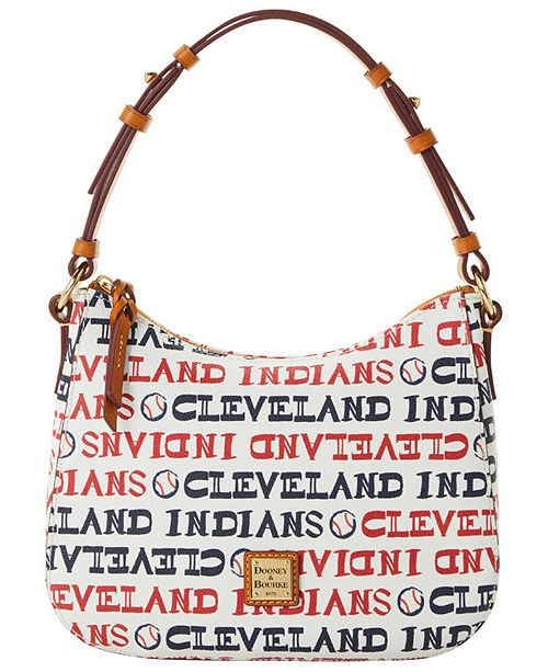 Dooney & Bourke Cleveland Indians Small Kiley Hobo Bag