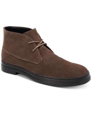 Calvin Klein Boots MEN'S RUEBEN CHUKKA BOOTS MEN'S SHOES