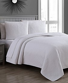 Estate Fenwick Full/Queen 3 Piece Quilt Set