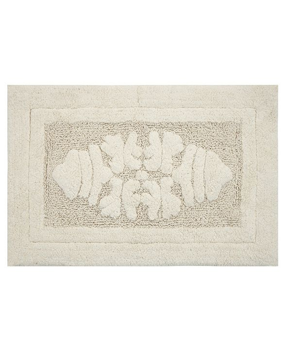 "Perthshire Platinum Collection Cipher 17"" x 24"" Bath Rug"