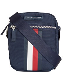 Tommy Hilfiger Men's Jonathan Crossbody Reporter Bag