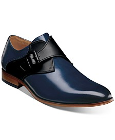 Men's Sutcliff Plain-Toe Monk-Strap Dress Shoes