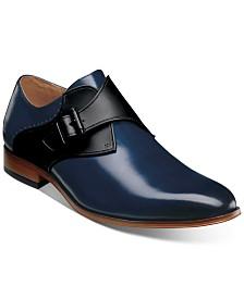 Stacy Adams Men's Sutcliff Plain-Toe Monk-Strap Shoes