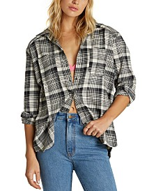 Billabong Juniors' East Light Plaid Shirt