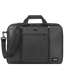 Solo Men's Highpass Hybrid Backpack Briefcase