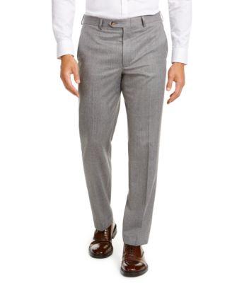 Men's Classic-Fit UltraFlex Stretch Light Gray Suit Separate Pants
