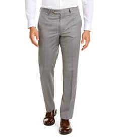 Lauren Ralph Lauren Men's Classic-Fit UltraFlex Stretch Light Gray Suit Separate Pants