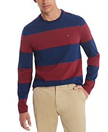Men's Bold Rugby Long Sleeve T-Shirt, Created for Macy's