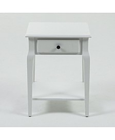 Single Drawer End Table