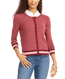 Patterned Cardigan Sweater, Created for Macy's