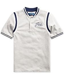 Polo Ralph Lauren Big Boys Mesh Knit Polo Shirt