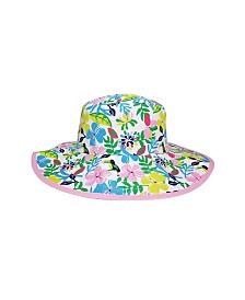 Banz Toddler Girls Reversible Bucket Hat