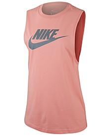 Women's Sportswear Essential Cotton Logo Tank Top
