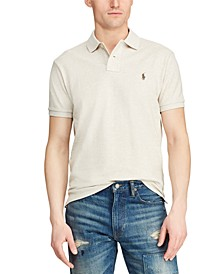 Men's Big & Tall Classic Fit Mesh Polo Shirt