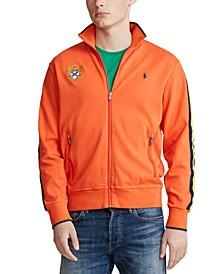 Men's Cotton Emblem Track Jacket