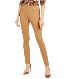 I.N.C. Wide-Waistband Skinny Pants, Created for Macy's