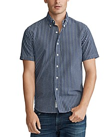 Men's Classic Fit P-Wing Oxford Shirt