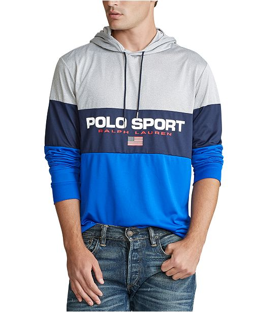 Polo Ralph Lauren Polo Ralph Lauren Men's Performance Hooded Jersey T-Shirt