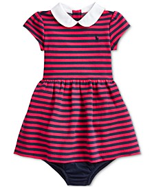 Baby Girls Knit Stripe Dress