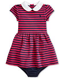 Polo Ralph Lauren Baby Girls Knit Stripe Dress