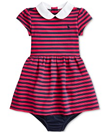 Polo Ralph Lauren Baby Girls Knit Stripe Dress