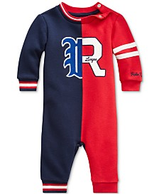 Polo Ralph Lauren Baby Boys Novelty Fleece Coverall