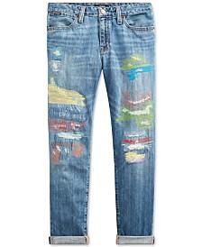 Polo Ralph Lauren Big Girls Astor Slim Boyfriend-Fit Jeans