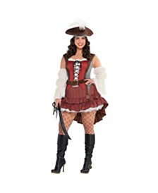Amscan Haunted Pirate Wench Adult Women's Costume - Plus