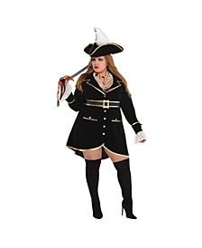 Treasure Vixen Adult Women's Costume - Plus Size