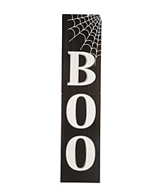 Wooden Boo Porch Sign
