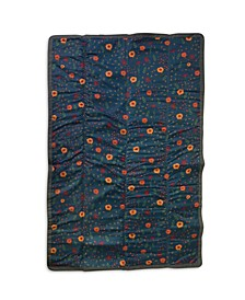 Midnight Poppy 5x7 Outdoor Blanket