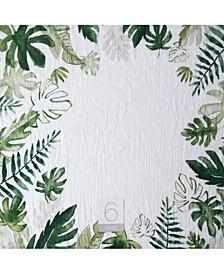 Tropical Leaf Photo Blanket