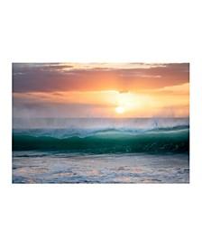 "Collection - Sunrise Mist Canvas Art, 27"" x 36"""