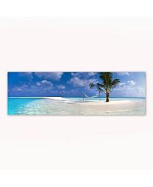 "Christopher Knight Collection - Hammock Beach Canvas Art, 12"" x 36"""